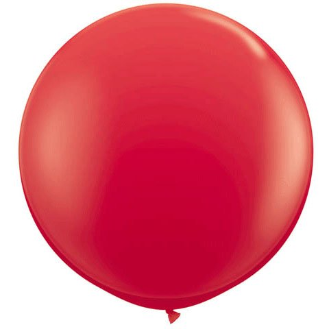 "Qualatex 36"" Round Latex Balloons , 2 Count"