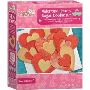 Crafty Cooking Kits Valentine Hearts Sugar Cookie Kit