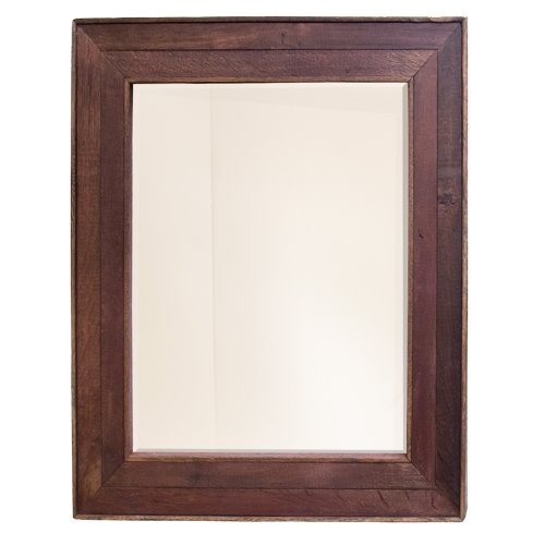 NATIVE TRAILS MR134 Vitner Rectangular Wall Mirror, Cabernet