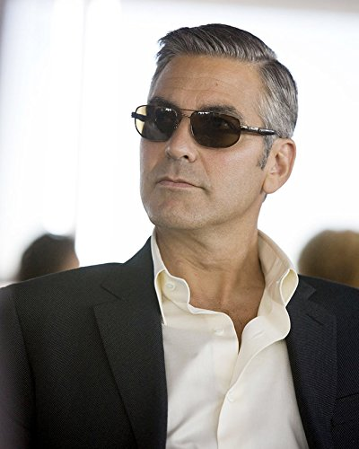 George Clooney Cool Portrait In Sunglasses and Suit 16x20 Canvas - George Sunglasses Clooney