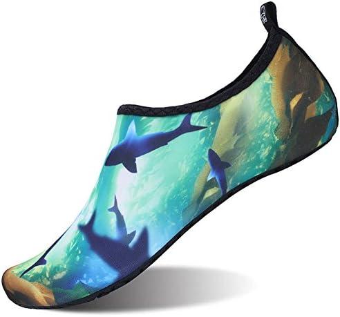 ウォーターシューズ 軽量 シュノーケリング アクアシューズ レインシューズ 男女兼用 マリン用 やわらかい ソフト 通気 スポーツ 海水浴靴 水陸両用