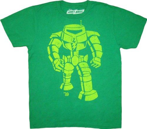 The Big Bang Theory Sheldon Man-Bot T-Shirt