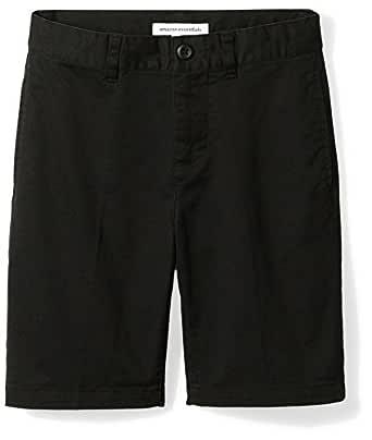 Amazon Essentials Toddler Boys' Woven Shorts, Black, 3T