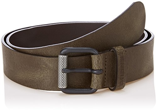 (Diesel Men's B-PLATE - belt, chocolate chip, 75)