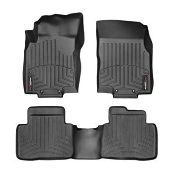 weathertech 44630 1 2 nissan rogue 2014 2018 floor liners automotive. Black Bedroom Furniture Sets. Home Design Ideas