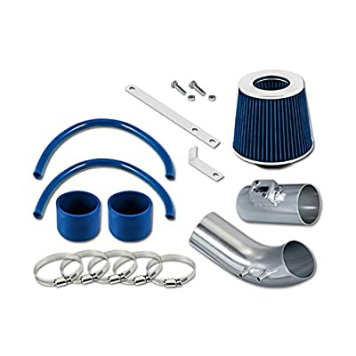 RL Concepts Blue Short Ram Air Intake Kit + Filter 04-07 For Accord 2.4L l4: Automotive
