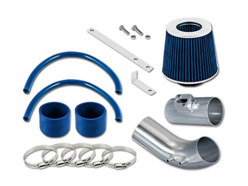 RL Concepts Blue Short Ram Air Intake Kit + Filter 04-07 For Accord 2.4L - System Intake Accord Blue