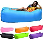 Bry Inflatable Lounger Air Chair Sofa Bed Sleeping Bag Couch for