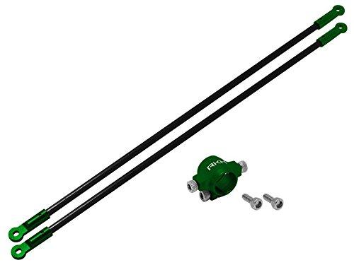 Rakonheli CNC AL Tail Boom Support Set (Green) - Blade 130S
