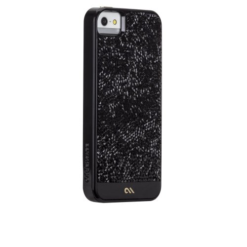 Case-Mate Apple iPhone 5/5S Premium Collection Brilliance Case - Retail Packaging - Black ()