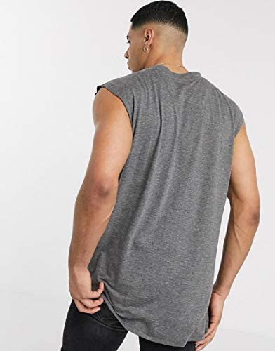 アナザーインフルエンス タンクトップ ノースリーブ アームホール メンズ Another Influence sleeveless t-shirt vestRRP [並行輸入品]