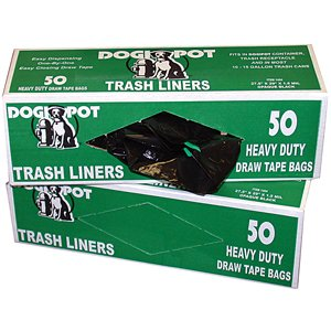 Dogipot Trash Liner Bags - Case of 50 bags (Liner Opaque)
