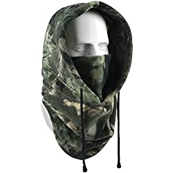 Your Choice Balaclava Face Mask Thick Thermal Fleece Hood Windproof Neck Warmer for Ski Hunting Snowboarding Work Outdoor Winter Sports and Activities (CamoA)