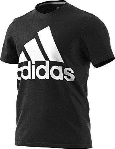 Adidas - Playera de Deporte para Hombre, Negro/Blanco, XXXXX-Large