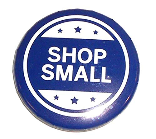 American Express Shop Small Promotional Pinback Button (Promotional Pinback Button)
