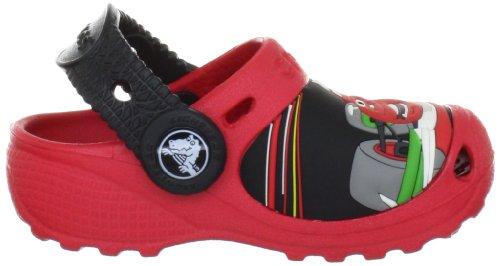 crocs Cars 2 TM Custom Clog 11431 Jungen Clogs & Pantoletten Rot/Red/Black