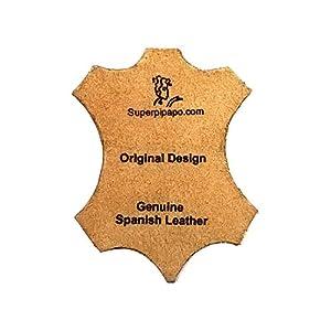 Superpipapo-Original-Collar-para-Perros-Todas-Las-Tallas-Correa-Opcional-Diseno-Bohemo-Piedras-Color-Turquesa-Mediano-45-cm-S-Wide-Cuello-30-35-cm-Ancho-28mm