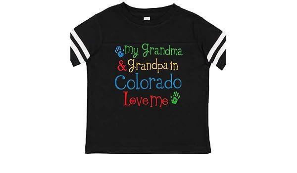 inktastic Florida Grandma Grandpa Loves Me Long Sleeve Creeper