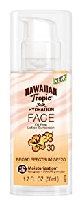 Hawaiian Tropic Silk Hydration Face Lotion SPF 30, 1.7 Ounce