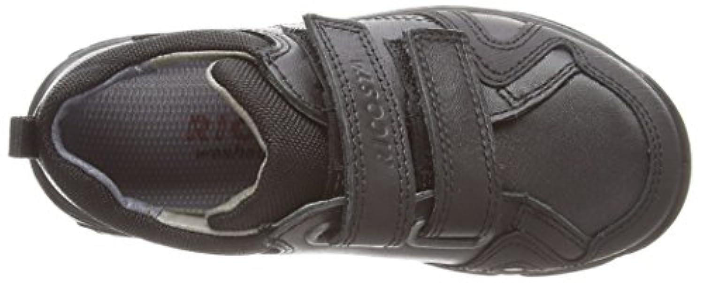 Ricosta Tamo Wide Fit, Boys' Loafers, Black (Schwarz 090), 8 Child UK (26 EU)