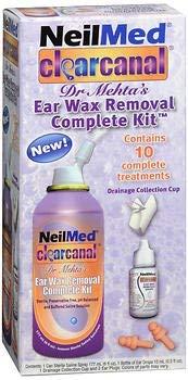 NeilMed ClearCanal Ear Wax Removal Kit - 6 oz, Pack of 2