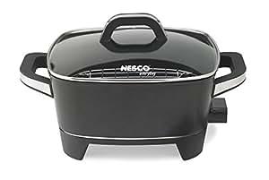 Nesco ES-12 Extra Deep Electric Skillet, 12-Inch, Black