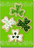 Shamrock Cookies – 28″ x 40″ Toland Art Banner For Sale