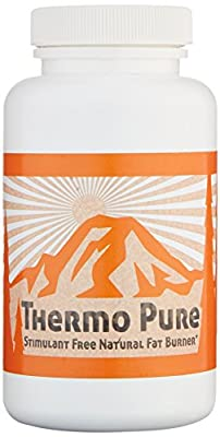 Thermo Pure Stimulant Free - The Natural Fat Burner & Appetite Suppressant, Caffeine Free All-In-One Weight Loss Formula with Garcinia Cambogia & Raspberry Ketones, 60 Veggie Capsules