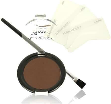 KLEANCOLOR Brows Essential Kit-KCEBK112 Dark Brown
