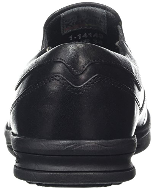 Kickers Boys' Troiko Slip-Junior Loafers, Black (Black), 1 UK 33 EU