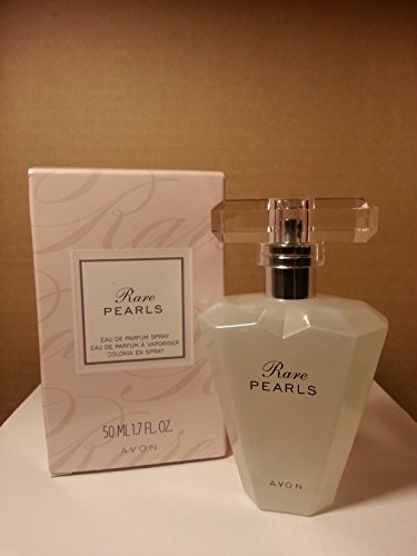 Avon Rare PEARLS Eau De Parfum Spray 1.7 Fl. Oz. New Shape