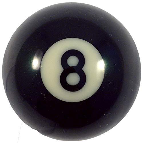 "Generations Gameroom 1-1/2"" Mini Pool Ball Individual Replacement - #8 Ball"