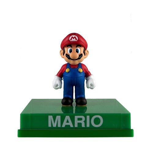 Super Mario Wii Deluxe Vinyl 4 Inch Action Figure Mario ()