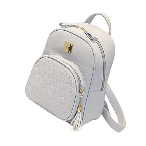 Outsta New Fashion Women Backpacks,Girl School Bag Ladies Bags Satchel Rucksack Handbag Classic Basic Water Resistant Casual Daypack Solid Color Travel - Handbags On Tommy Hilfiger Sale