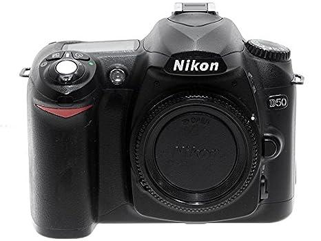 Nikon D50 Cámara réflex Digital 6 MP Contera Nikon F: Amazon.es ...