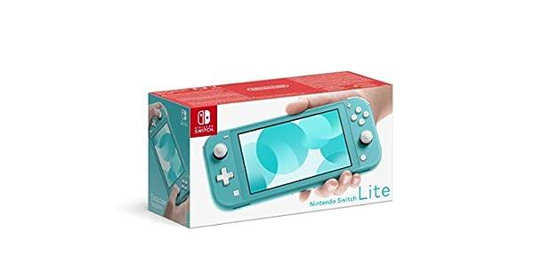 Nintendo Switch Lite - Consola Azul Turquesa: Nintendo: Amazon.es ...