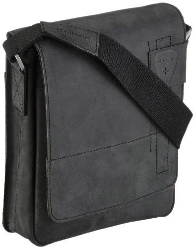 Strellson Richmond Messenger SV 4010001165 Herren Umhängetaschen 20x23x6 cm (B x H x T), Braun (dark brown 702) Schwarz (Black 900)