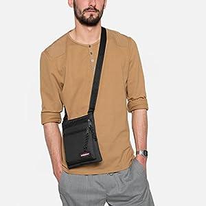 Eastpak Rusher Messenger Bag, 23 cm, Black