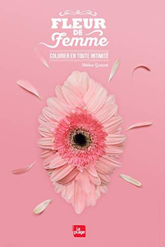 Fleur de femme colorier en toute intimité