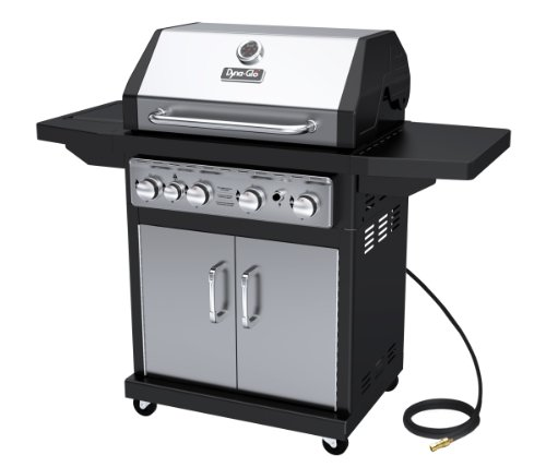 Dyna-Glo Black & Stainless Premium Grills, 4 Burner, Natural Gas by Dyna-Glo