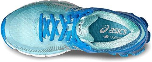 Asics Gel-Kinsei 6, Zapatillas de Gimnasia para Mujer Multicolor (Diva Blue/silver/aqua Splash)