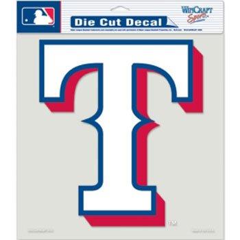 Texas Rangers Decal 8x8 Die Cut ()