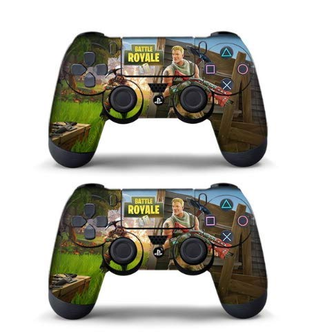 Pegatina Fortnit de 2 pieza para controlador Playstation 4 ...