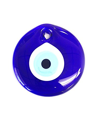 Evil Wall (CF76885401, 4 inches, Evil Eye Protection Office/Home Décor Wall Hanging Ornament by Crystal Florida)
