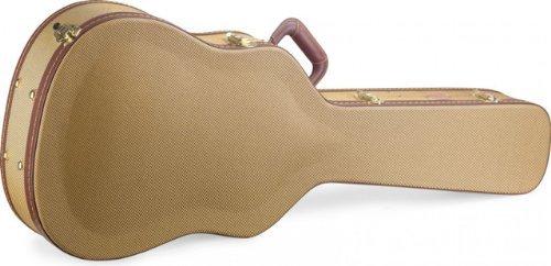Stagg GCX-WGD Gold Tweed Deluxe Western/Dreadnought Guitar Case [並行輸入品]   B07GTW4BZ1