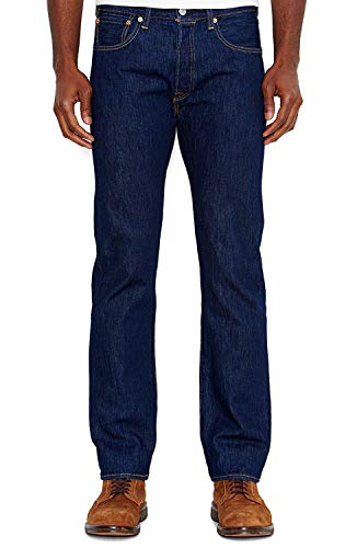 Levi's Men's 501 Original-Fit Jean, Rinse, 34W x ()