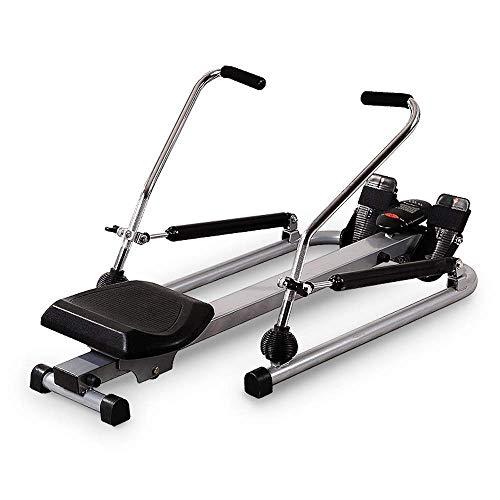 ZJZ Roeimachine,Hele lichaam oefenapparatuur,Opvouwbare Roeimachine Verstelbare Home Rowing Machine,LCD Monitor me…