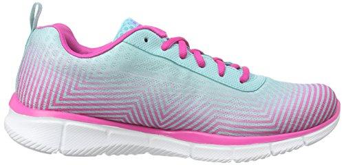 skechers EQUALIZER - EXPECT MIRACLES - Zapatillas de deporte para mujer Azul - Blau (LBPK)