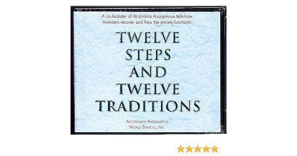 Workbook aa 4th step worksheets : Alcoholics Anonymous Twelve Steps & Twelve Traditions 6 Cd Audio ...