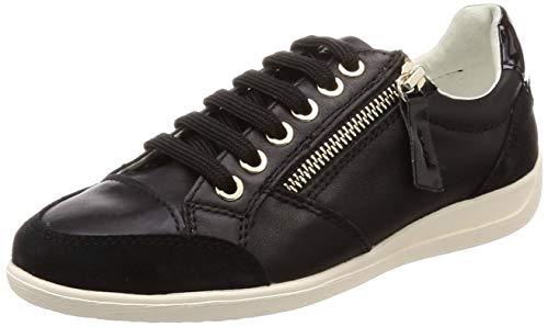 Myria Geox D Femme black Basses Sneakers C9999 B Noir 5O5pr
